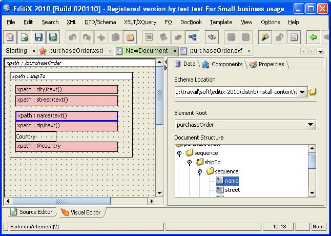 EditiX XML Editor Manual