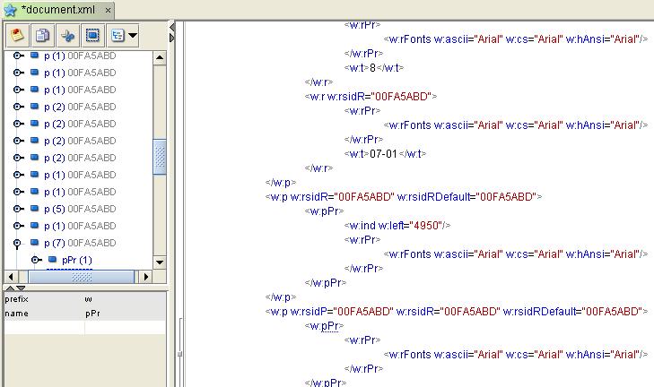 Open Xml Editor
