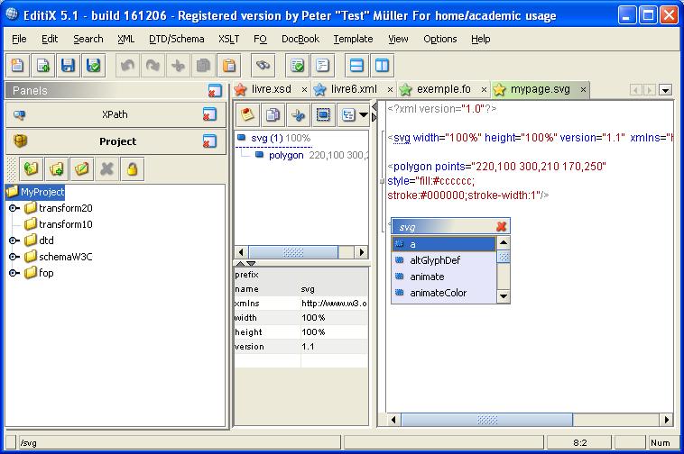 Svg editor Online vector editor