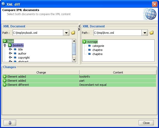 Open xml editor xml diff sciox Images