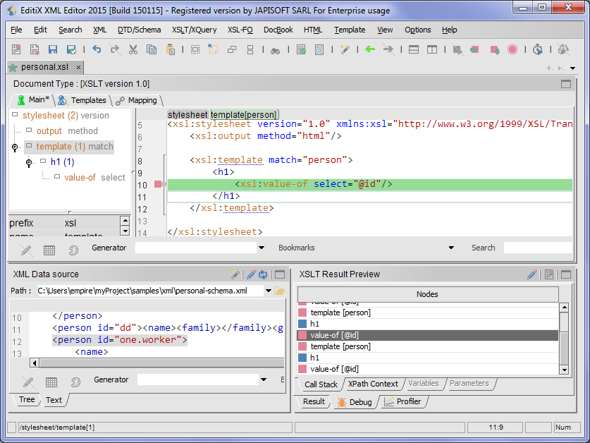 open source xml editor editix