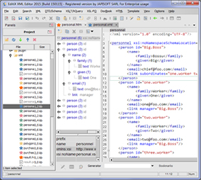 Open Source XML Editor - EditiX